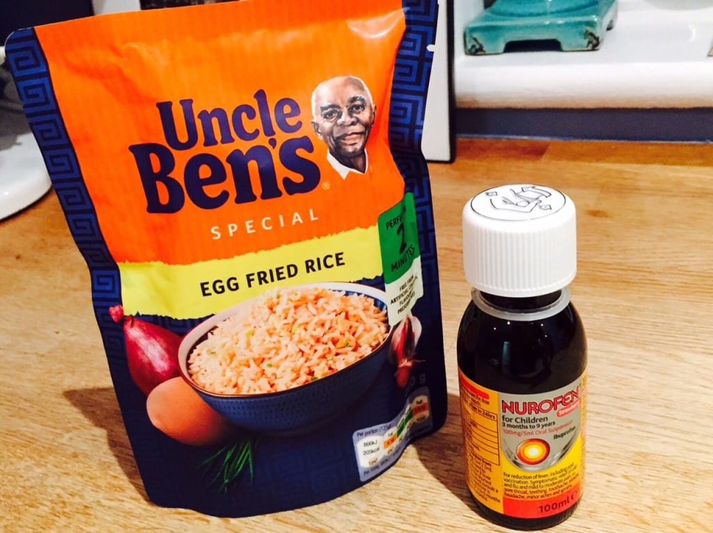 How egg fried rice, pooh and nurofen can cause a meltdown