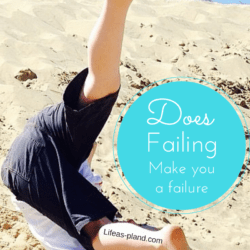 Does failing make you a failure