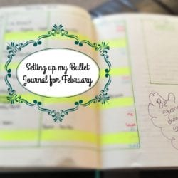 Setting up my Bullet Journal
