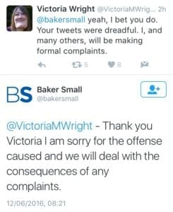 Bakers Small Apology 2