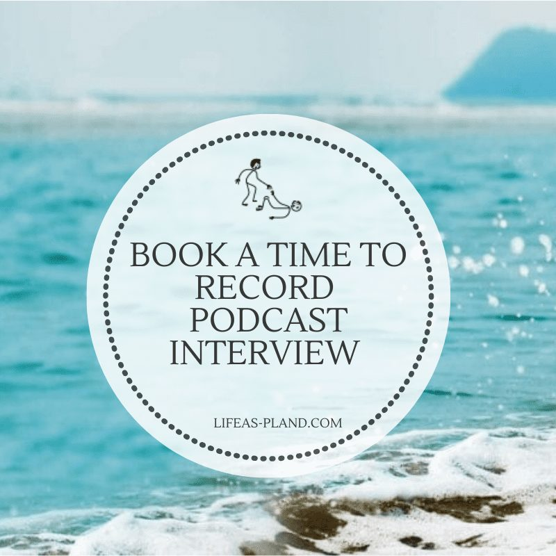 Book a podcast interview time